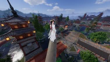 剑网三扬州城顶